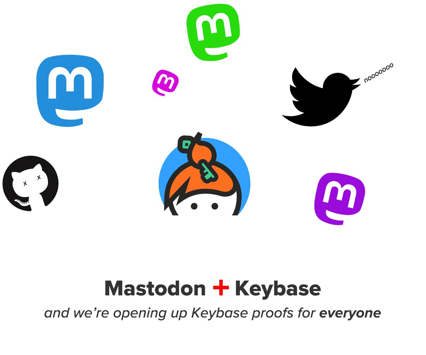 Keybase su Mastodon